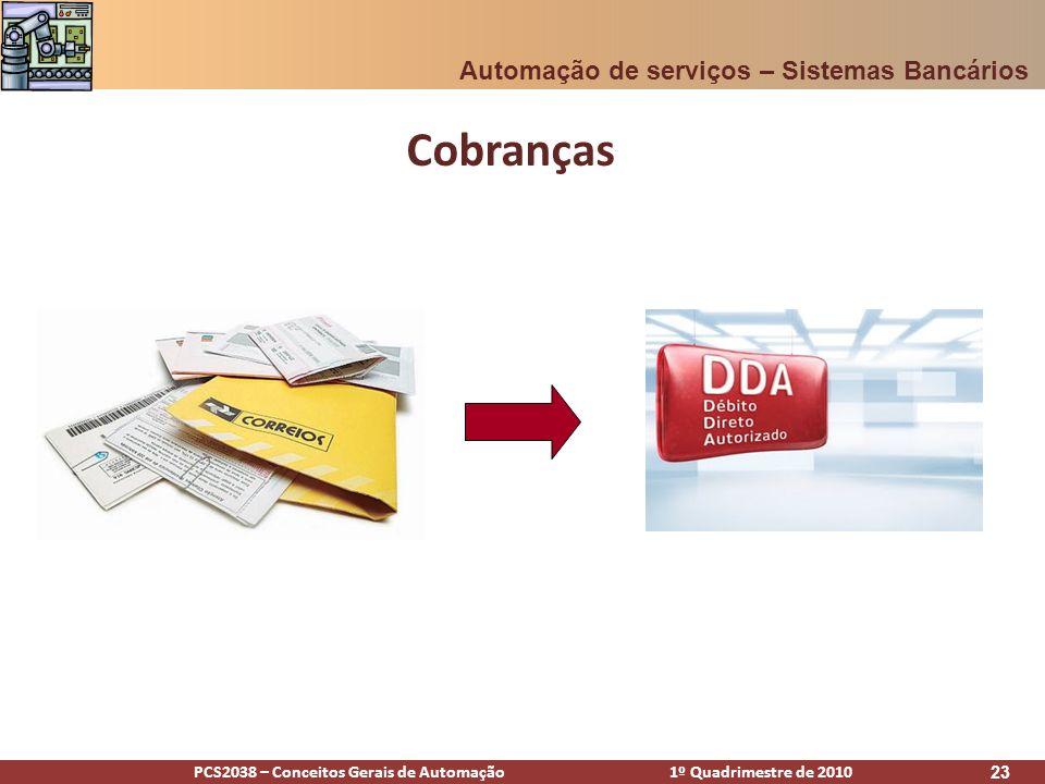 Cobranças Automação de serviços – Sistemas Bancários [Alex]